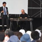宮沢賢治童話村でジブリ・久石譲さんトークショウ イーハトーブフェスティバル2018