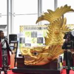 仙台空港でばったり織田信長VS伊達政宗「金のシャチホコ」信長の手土産?