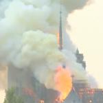 なんてこと…ノートルダム大聖堂炎上 原因は? 14時間後、消し止める