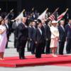 令和初の国賓トランプ大統領 歓迎行事 天皇皇后両陛下と会見