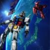 ガンダム宇宙へ 東京オリンピックを応援